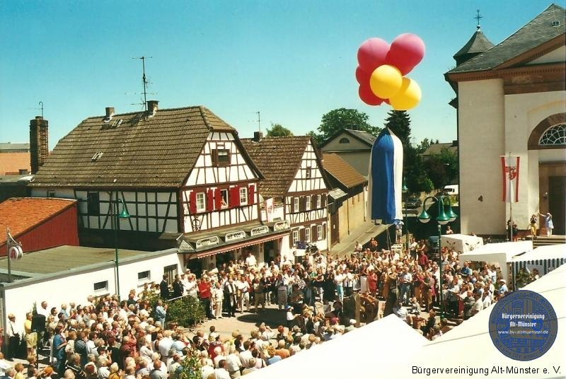 2000: Dallesfest · BVAM · Bürgervereinigung Alt-Münster e.V.