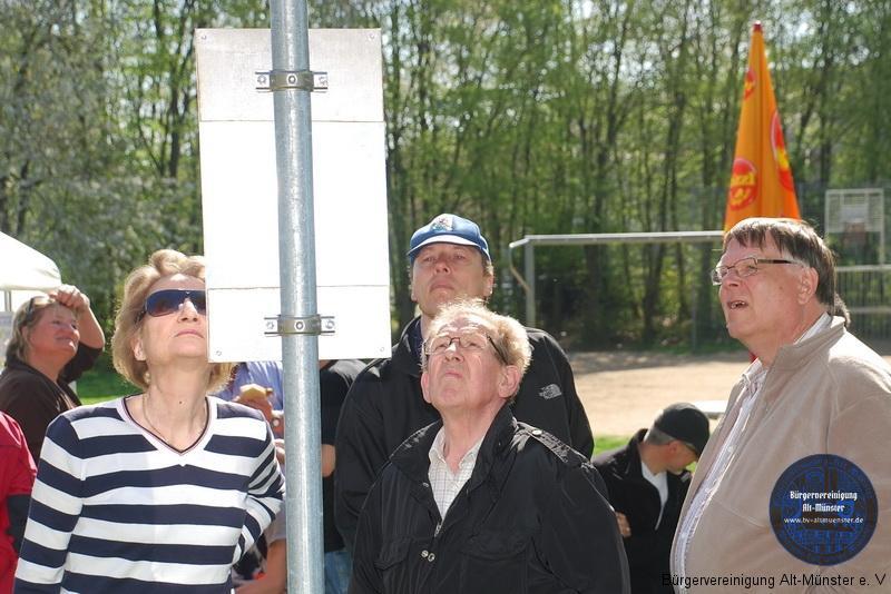 2011: Eröffnung des Boule-Platzes · BVAM · Bürgervereinigung Alt-Münster e.V.