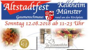 Banner: Altstadtfest 2018 ⁜ BVAM ⁜ Bürgervereinigung Alt-Münster e.V.