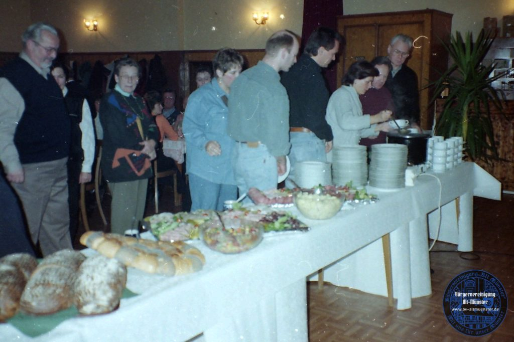 1996: Helferfest · BVAM · Bürgervereinigung Alt-Münster e.V.
