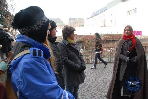 2010: Frankfurt-Rundgang unserer Hexen · BVAM · Bürgervereinigung Alt-Münster e.V.