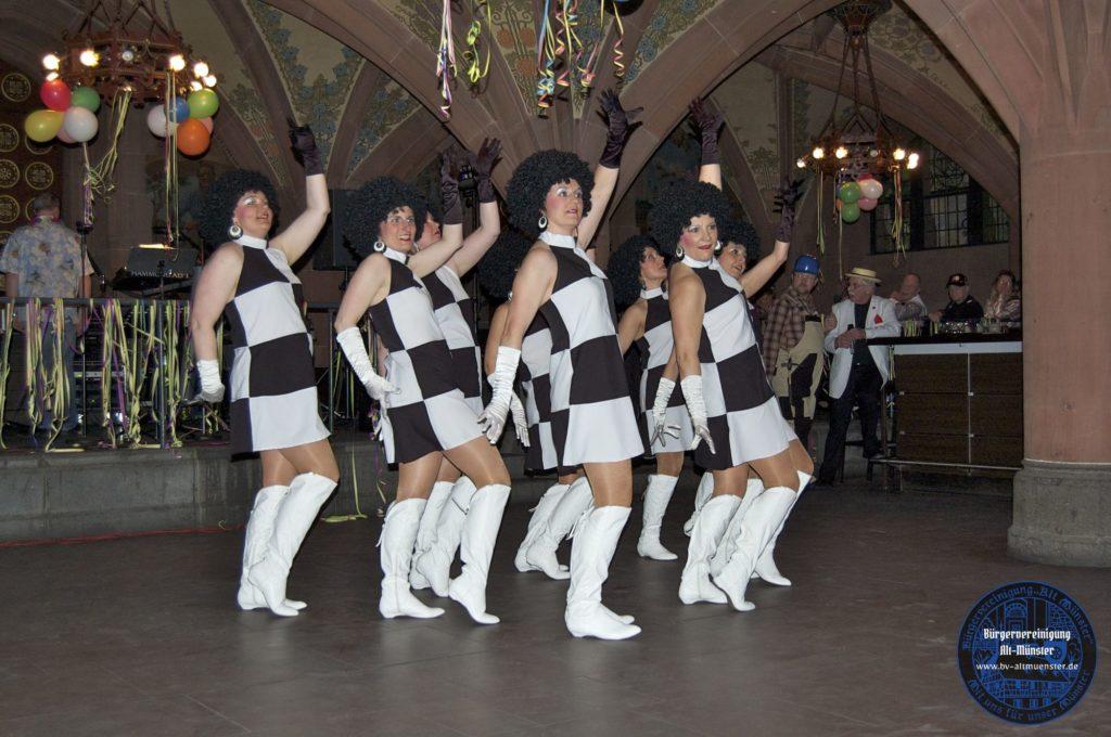 2012: Römerfasching & Polizeichor · BVAM · Bürgervereinigung Alt-Münster e.V.