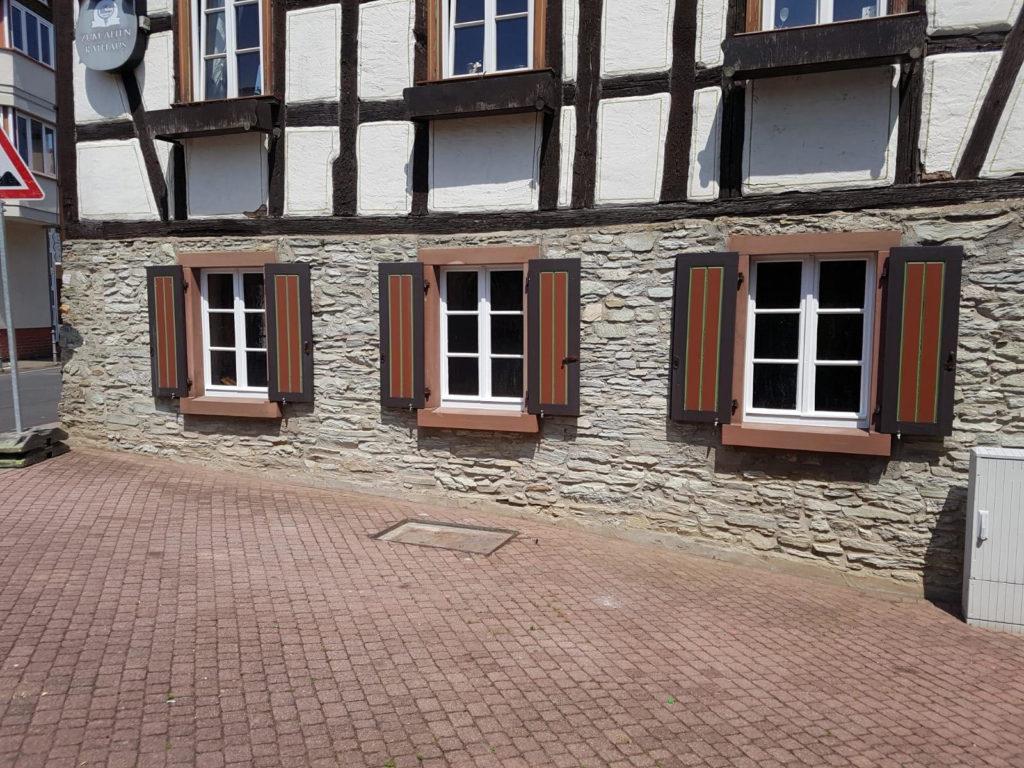 26.05.2018: Renovierung - Fenster des Alten Rathauses · BVAM · Bürgervereinigung Alt-Münster e.V.