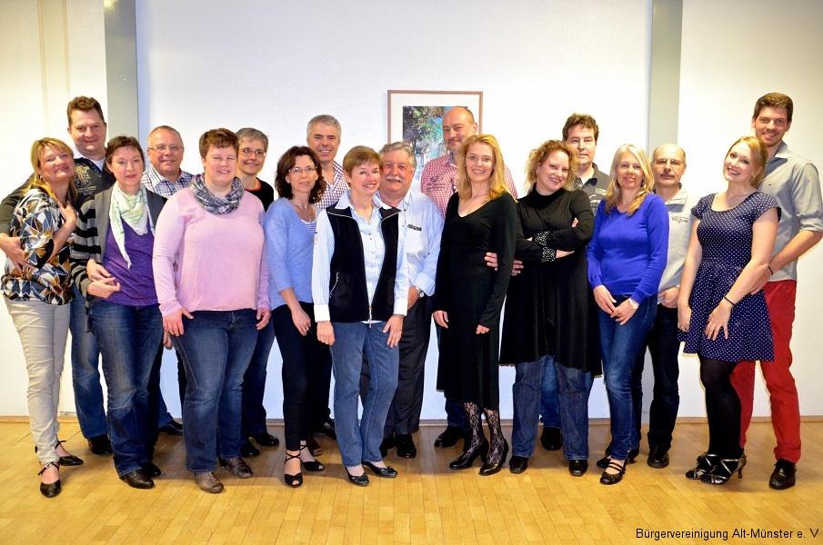 Unser Tanzkreis · 2016 · BVAM · Bürgervereinigung Alt-Münster e.V.