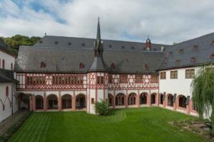 Kloster Eberbach (Foto: Wikimedia Commons) · BVAM · Bürgervereinigung Alt-Münster e.V.