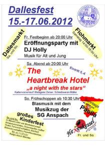 Poster: Dallesfest 2012 ⁜ BVAM ⁜ Bürgervereinigung Alt-Münster e.V.