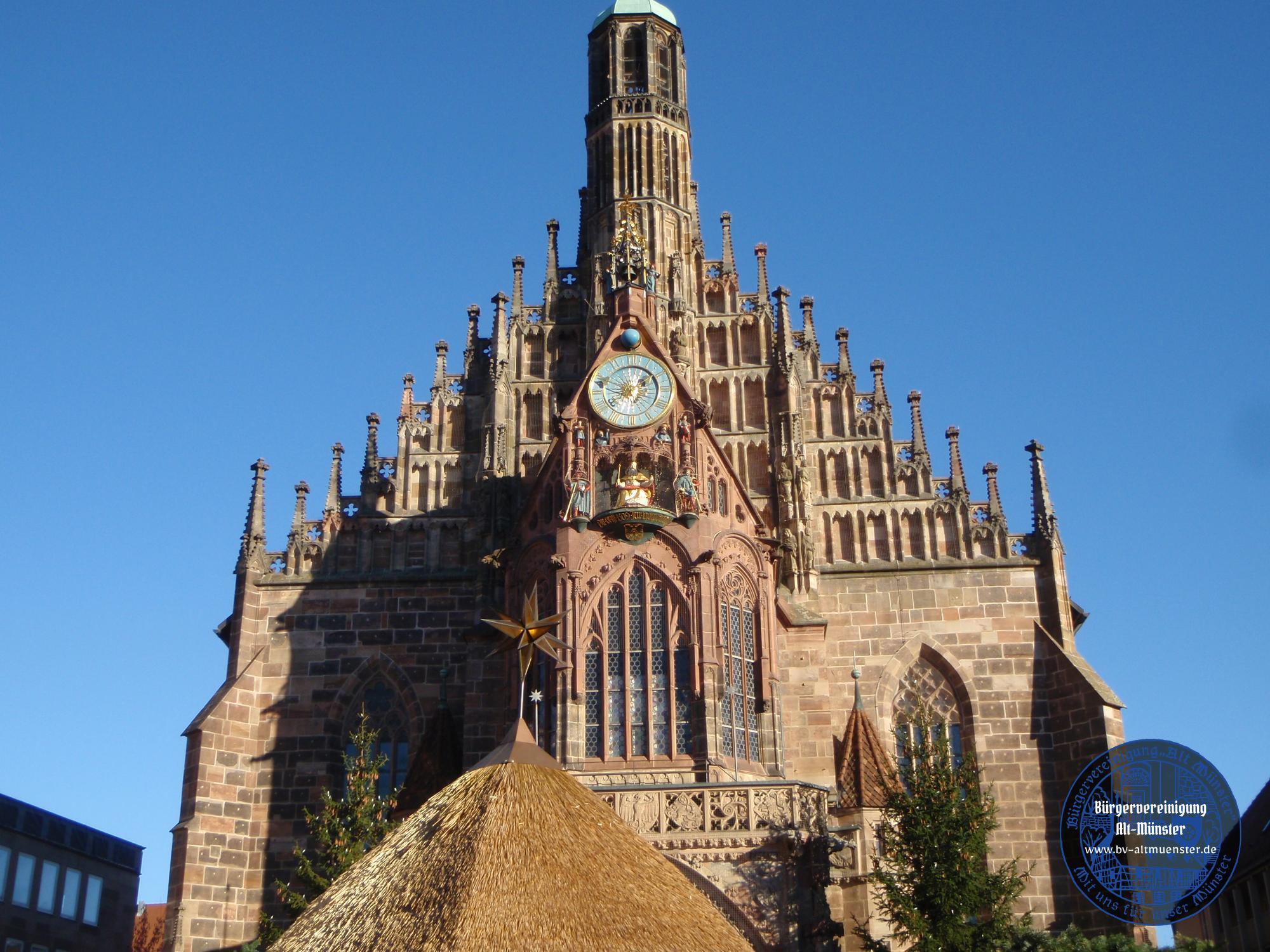 2011: Weihnachtsmarkt Nürnberg · BVAM · Bürgervereinigung Alt-Münster e.V.